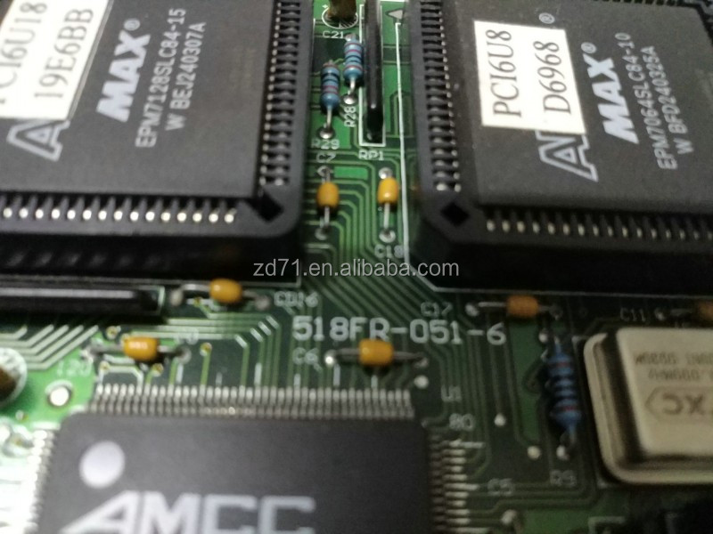 PCI6U8 TR518FR ICT 518FR-051-6 IO card well tested working