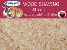 NATURAL WOOD SHAVING FOR ANIMALS BEDDING EMILYPETS