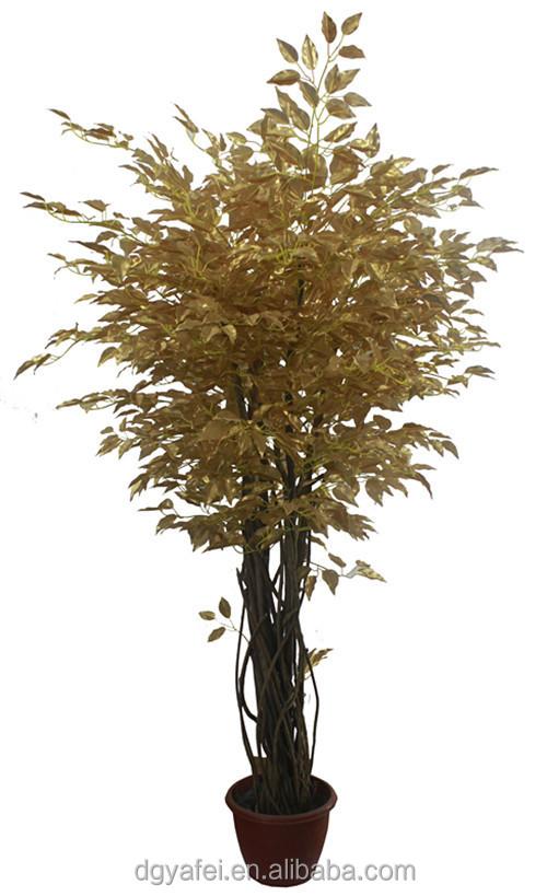 New d coratif r aliste artificielle mini bonsa arbres for Arbres artificiels pour exterieur