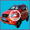 4 wheel 4 seats electric automobile with eec certification