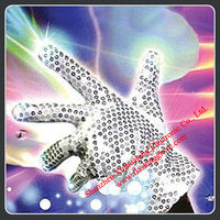 Party Supplies Prop Gloves With LED Light For Dancer
