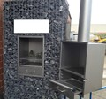 WELDON custom Metall bbq fire pit chimney