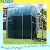 PUXIN family size Portable Assembly Membrane Biogas digester to animal waste