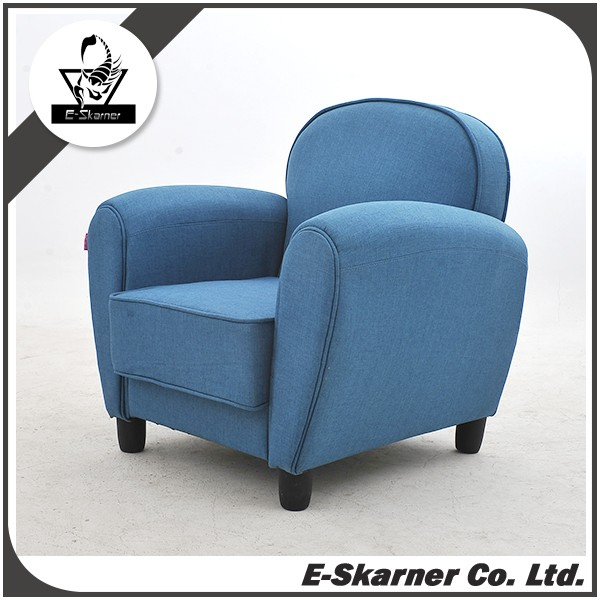 E-Skarner high quality blue color corner sofa furniture for lounge