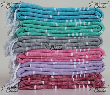 Beach Towel Peshtemal for Sauna directly from manufacturer in Denizli / Turkey