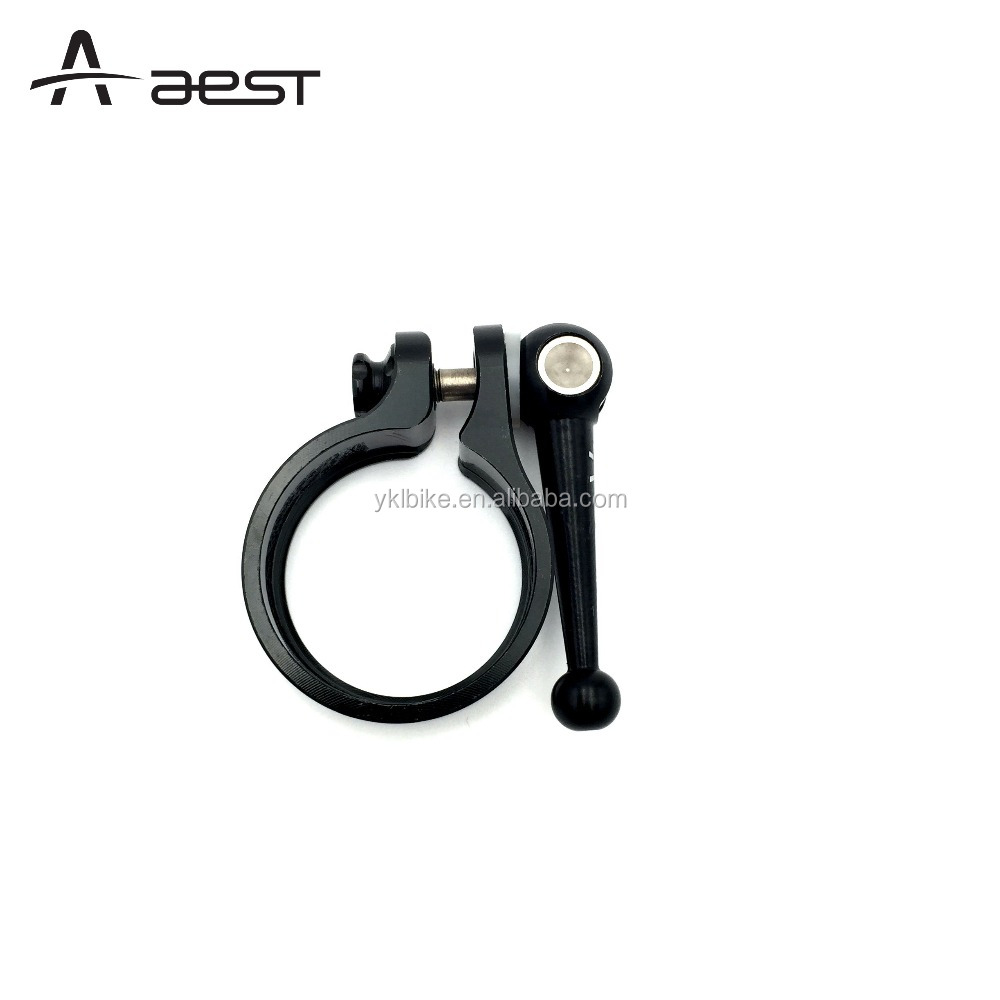 bicycle parts aluminum seat post clamp tube clamp For Road bike,MTB,BMX With Quick Release