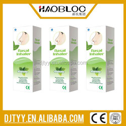 Haobloc Nasal Inhaler, Cool and refreshing mint helps runny noses, Health products from China
