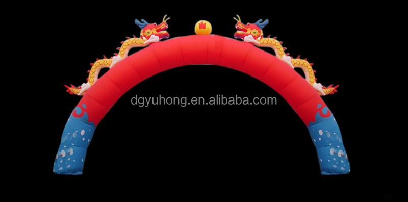 New Brand Advertising Inflatable Arch For Commercial