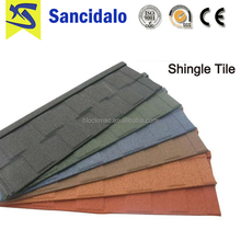 Cheap colorful galvanized stone coated steel roofing sheet