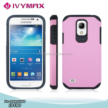 dual layer hybrid armor case for samsung galaxy s4 mini i9190