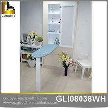 Wall mount Saving Space Mirrored ironing board cabinet