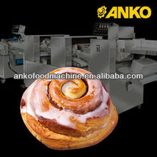 Anko mixing making freezing extrusion cinnamon rolls machine