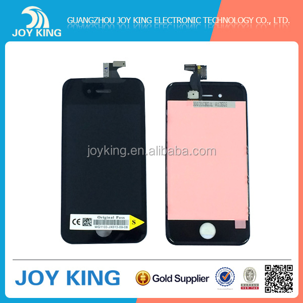 Joy King high quality touch screen lcd display digitizer for iphone 4s