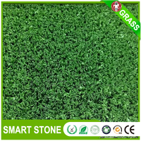 Short Curly Yarn Mini Golf synthetic grass for golf field