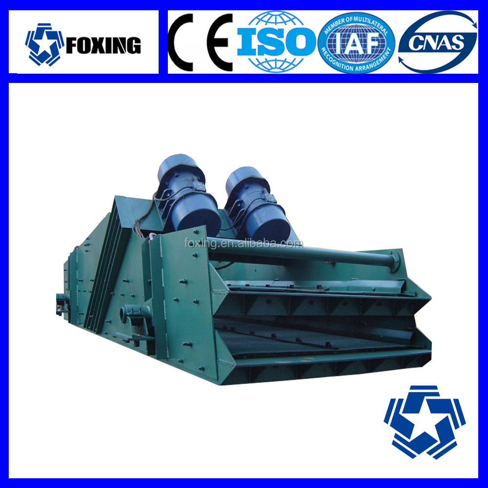 China Linear Wood Chips Vibrating Screen for Sale