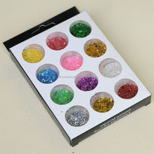BIN 3D Acrylic Nail Art Decoration Nail Glitter Set