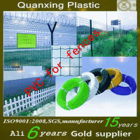 Factory price PVC pellets for plastic coated wire producing wire mesh fencing