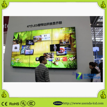good price lcd videowall displays lcd video wall with control room 55 inch video wall for fast food shop