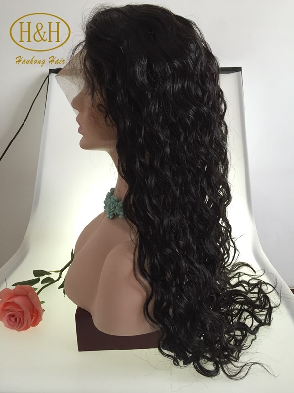 Wholesale cheap 8-30inch natural black peruvian human hair wigs overnight delivery lace front wig in dubai