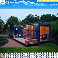 40FT high quality sea container villa home /luxury modified shipping container 40ft house