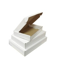 Cheap Price Custom Logo Foldable White Corrugated Shipping Packaging Box
