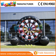 Giant football dart game inflatable foot darts for sale