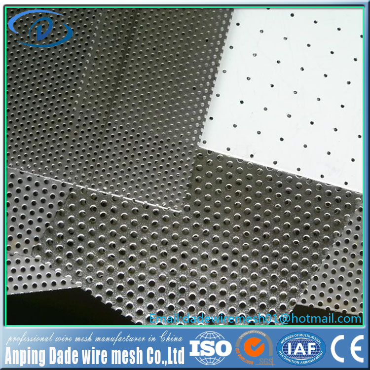 Manufacturer wholesale mild steel perforated metal