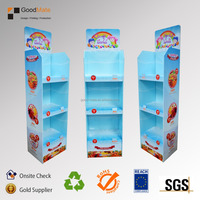 POS Corrugated Cardboard Display Stand Candy
