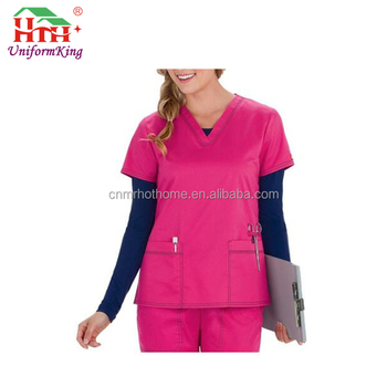 2017 New Style Simple Comfortable Medical Scrubs