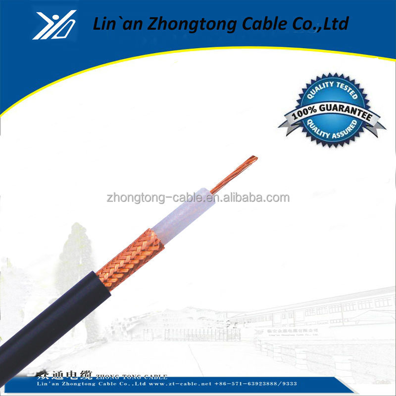 Coaxial cable with electrical characteristics