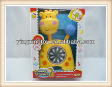 hot sell electric toy deer animal music kaleidoscope