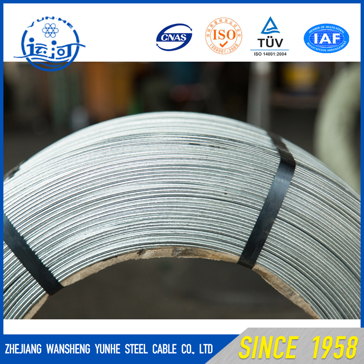 China Galvanized steel wire for ACSR, Wire Mesh,Fencing and Fish Net supplier