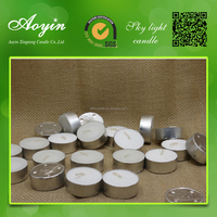 big discount for paraffin wax pressed scented tealight Candle in bulk