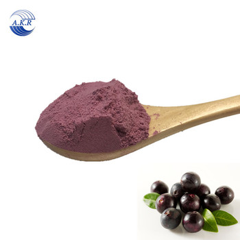 Food supplement organic acaiberry powder