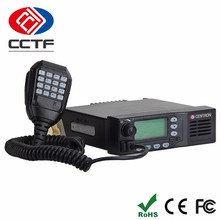 D-660 Critical Communication Car Radio Walkie Talkie 50Km Dual Band Mobile Two Way Radios For Scramber Military Used