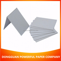 competitive price Hard Stiff 2mm Grey Paperboard sheets