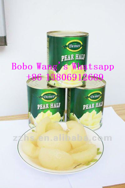 Canned Pear Halves in Syrup