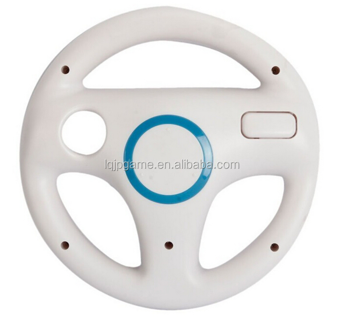 For Nintendo Wii Steering Wheel white