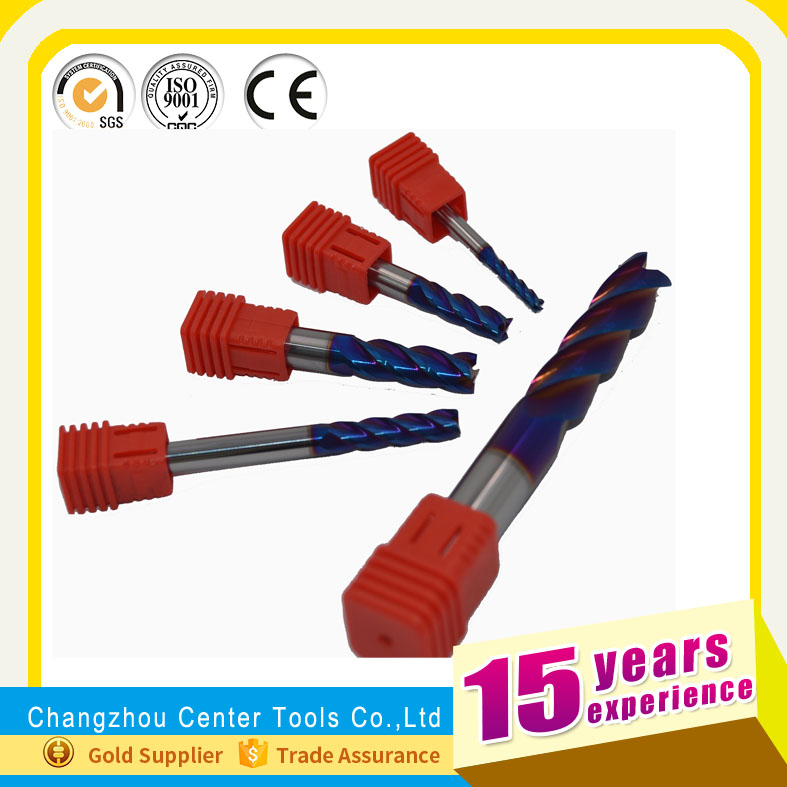 Changzhou factory square end millfor wood DIN844 cutting tool