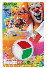 3 Color face painting color for sale makeup set on sale
