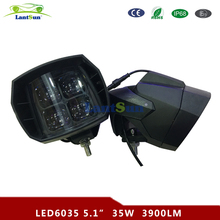 "LED6035 5.5"" inch IP67 led work light 12v 35w high beam motorcycle driving light"