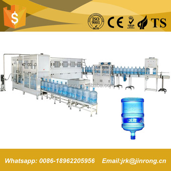 5 gallon 18.9L drinking water filling capping machine