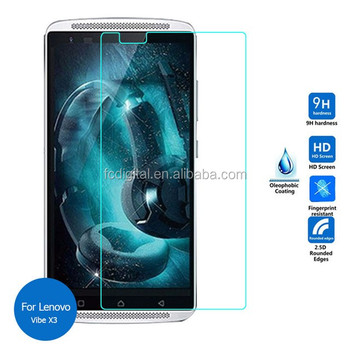 New Arrival Tempered Glass Screen Protector For Lenovo vibe X3 Factory Best Price For Supply