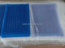 2015 semi finished product cooling gel roll up folding mattress pad