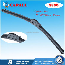 S850 Carall MIMS Moscow Korea Car Auto Spare Parts Denso Wiper ISO/TS16949 Windshield X6 A6 A8 OEM Flat Soft Wiper Blade