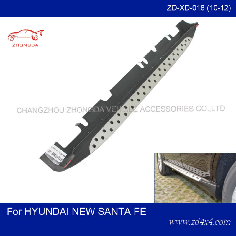 Hyundai new santa fe side step,running board for NEW SANTA FE,auto pedal plate/foot plate