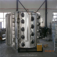 Wall Ceramic Tile Chrome Spray PVD Vacuum Coating Machine
