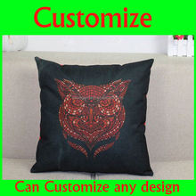 Beijing opera printed custom pillow, Chinese facebook pattern print throw pillow cover and pillow case
