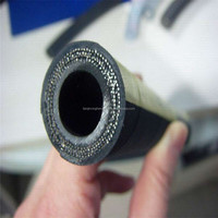 "Hydraulic Rubber Hose, High Pressure, High Tensile Steel Wire Braided, 2sn, 1/4"" to 2"""