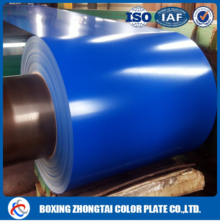 Color coated steel